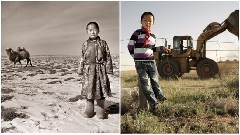 """Өвөр Монгол жаалуудын """"хоёр ертөнц"""" - Гэрэл зурагчин А Иний фото төсөл"""