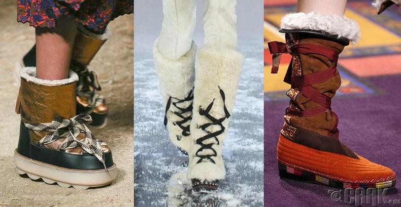 Үдээстэй чөлөөт загварын гутал