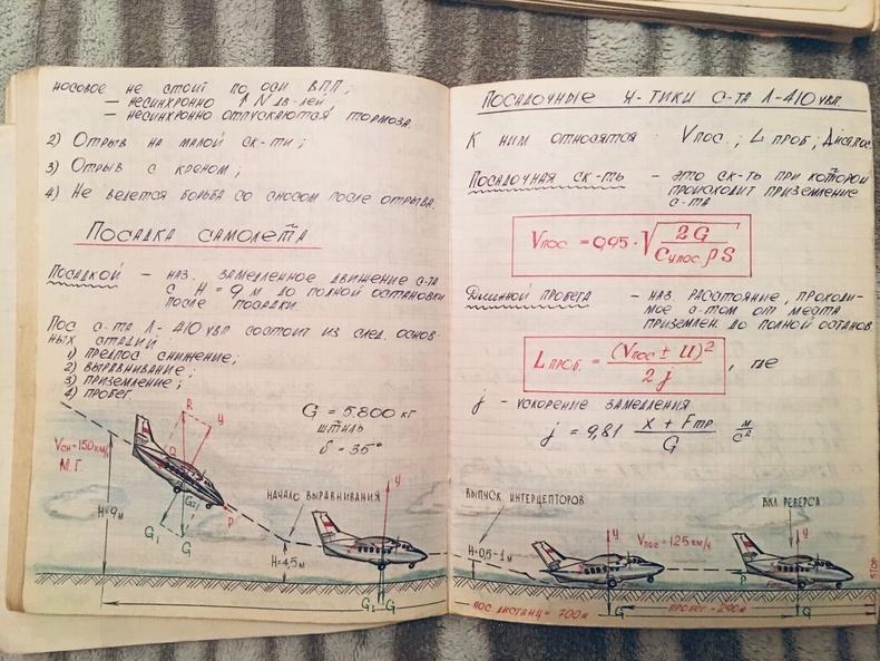 Оросын нисэхийн сургуулийн сонсогчийн тэмдэглэл