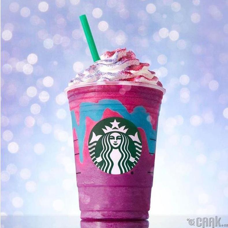 """""""Starbucks""""-ийн солонгон өнгөтэй фраппучино"""