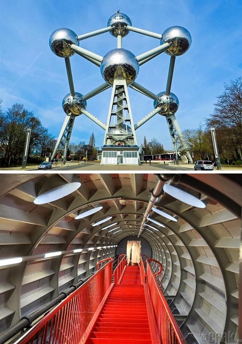 """""""Атомиум"""" - Брюссель хот, Бельги"""