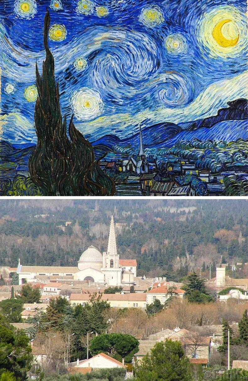 """Винсент Ван Гог - """"Одтой шөнө"""""""