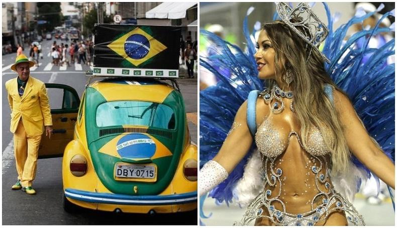 Зөвхөн Бразилд л харж болох зүйлс