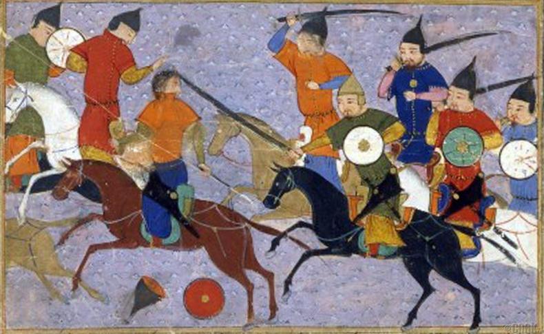 Монголчуудтай тулгарсан нь