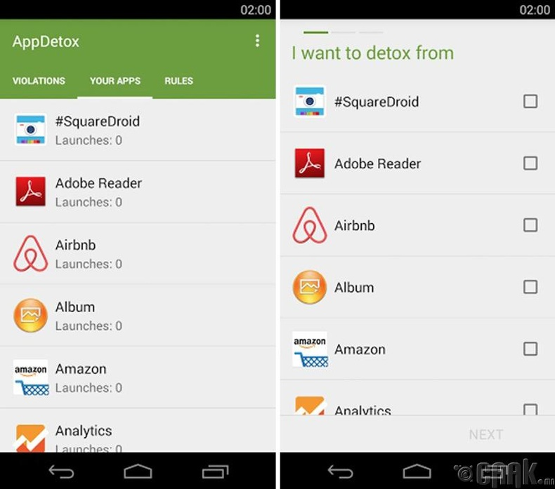 """""""AppDetox"""" гар утас цэгцлэгч"""