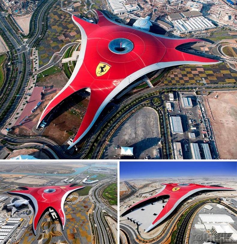 Дубай дахь Ферраригийн дэлхийн парк