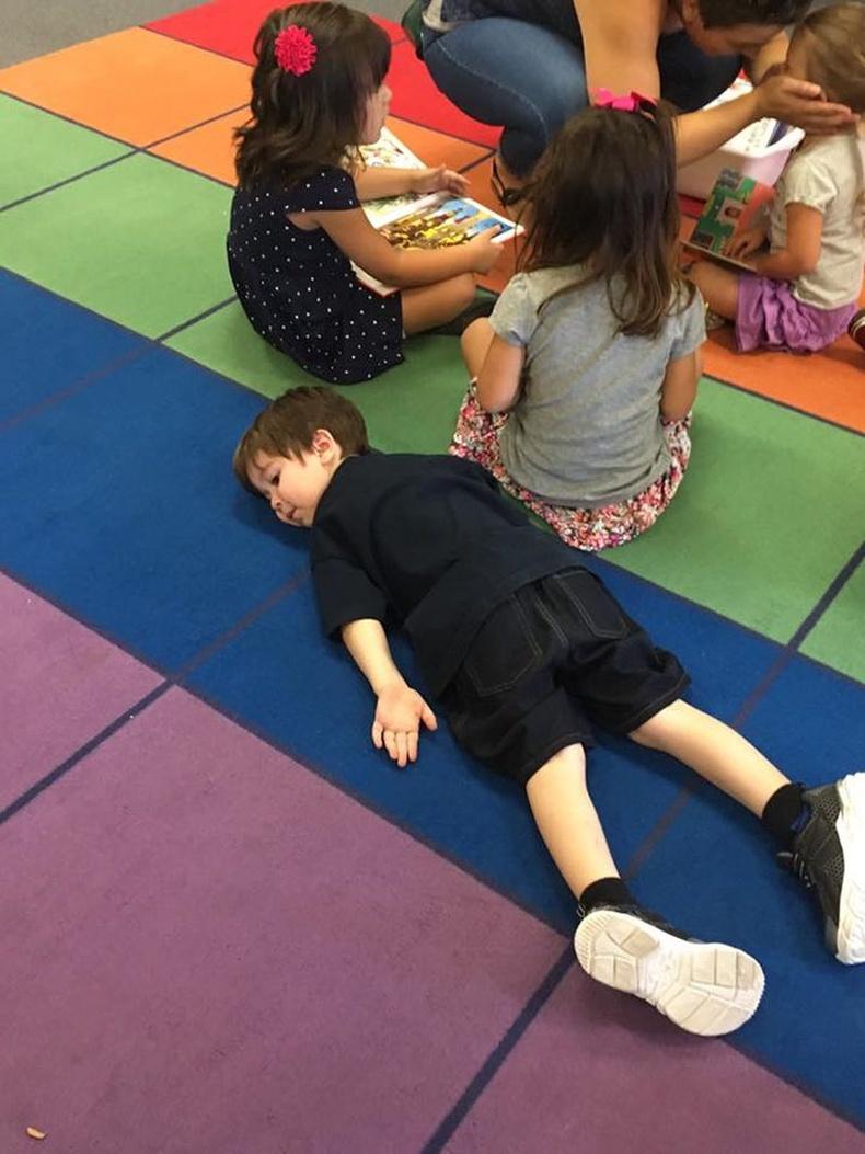 Хүүгийн маань бэлтгэл ангийн эхний өдөр.