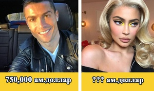 Инстаграмд хийсэн нэг зургаасаа хамгийн их мөнгө олдог алдартнууд