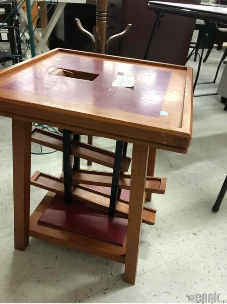 """""""Нууц хаалгатай ширээ?"""""""