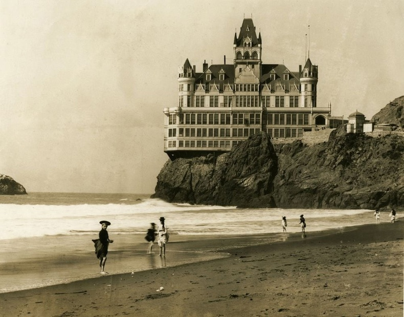 """""""Cliff House"""" зочид буудал, Сан-Франциско, АНУ"""
