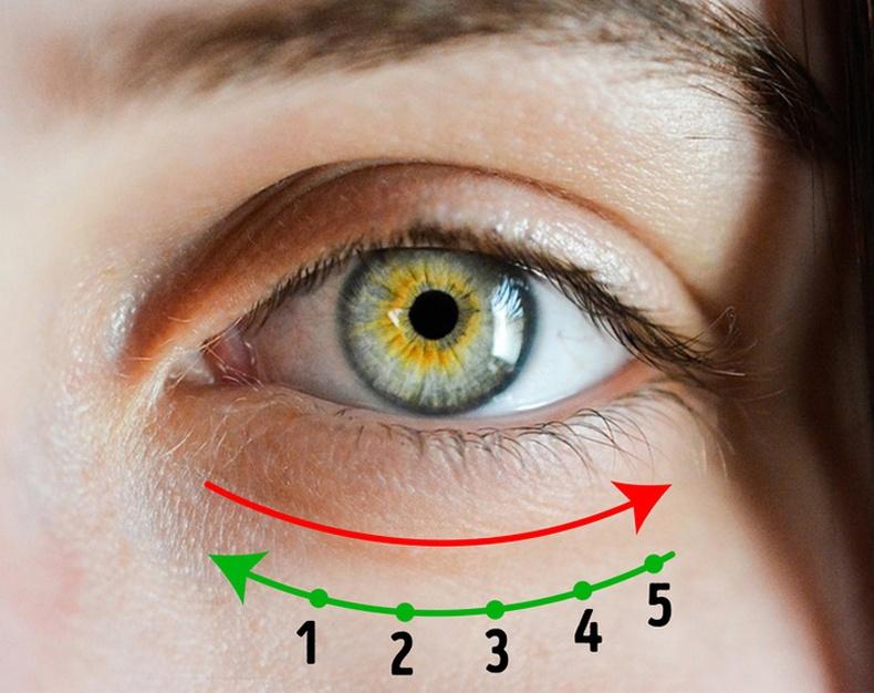 Нүднийхээ доогуур тос хэрхэн зөв түрхэх вэ?
