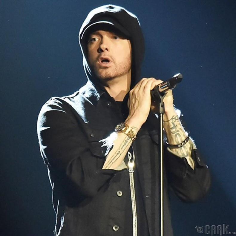 Эминем (Eminem) -д толгой хорогдох чиргүүлээс өөр юу ч байсангүй