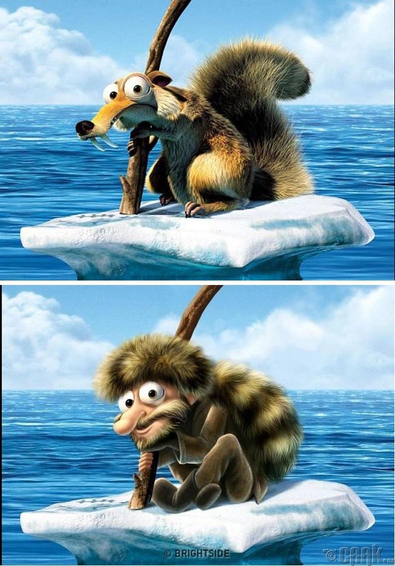 """""""Ice Age"""" - Скрат"""
