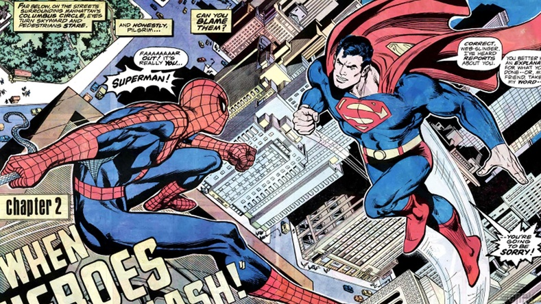 """Marvel"" ба ""DC Comics"""