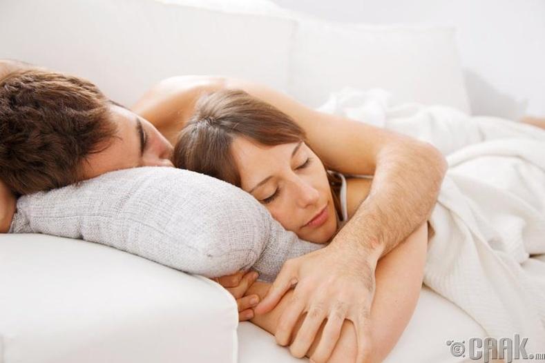 Тав тухтай унтаж амрахыг хичээ