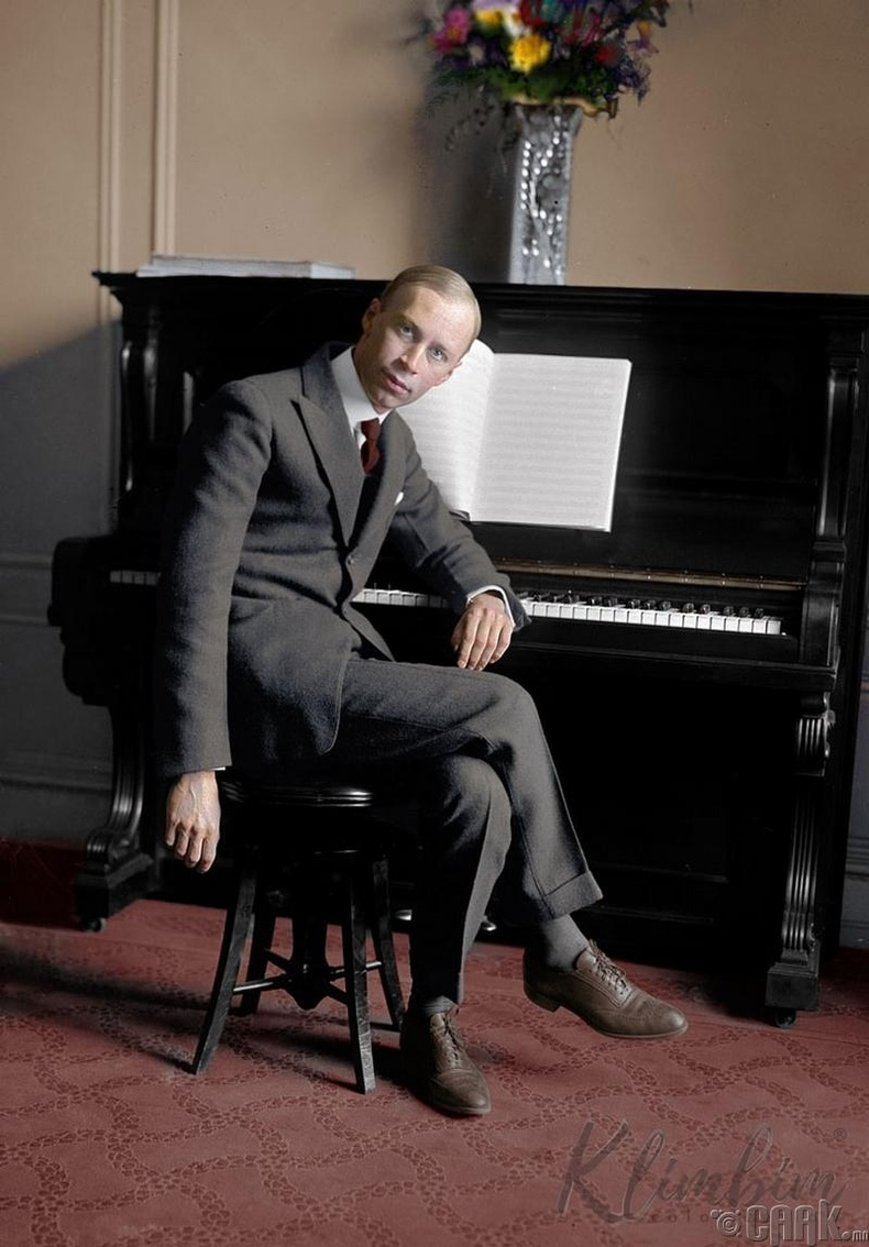 Хөгжмийн зохиолч Сергей Прокофьев - 1920 он