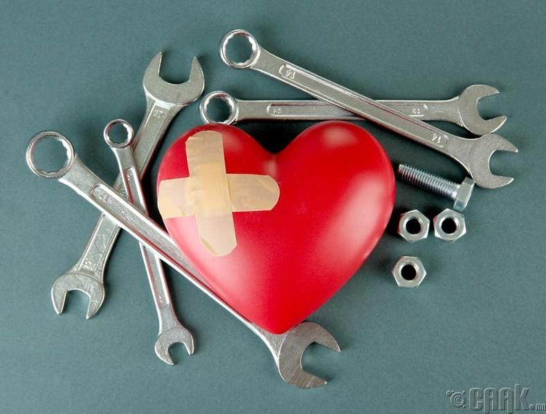 Зүрхэнд тустай