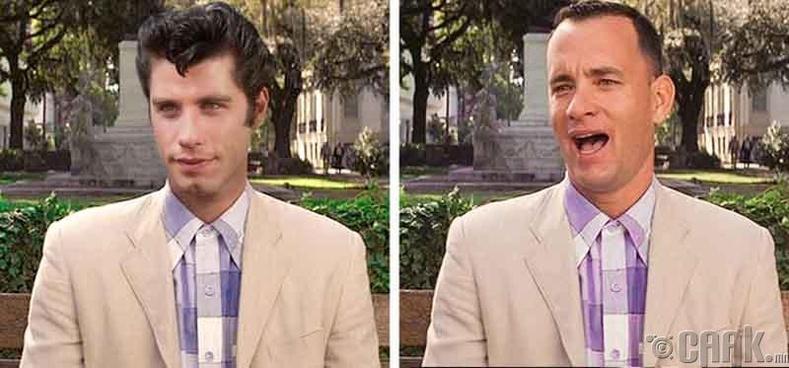 "Жон Траволта (John Travolta) - ""Forrest Gump"""