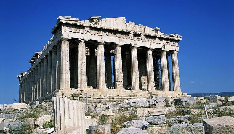 Афин хот, Грек