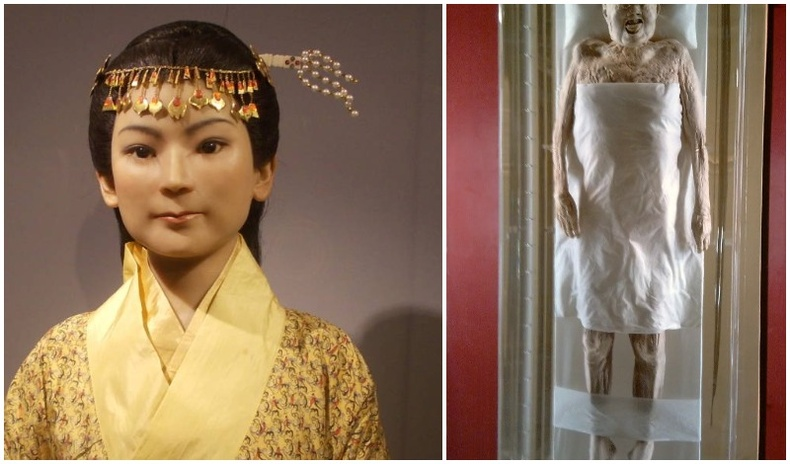 2000 жилийн өмнөх Хятад эмэгтэйн гайхалтай сайн хадгалагдан үлдсэн шарил