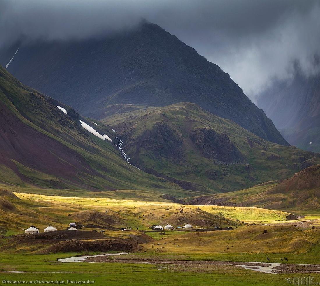 Алтайн уулсын айлууд. Баян-Өлгий аймаг