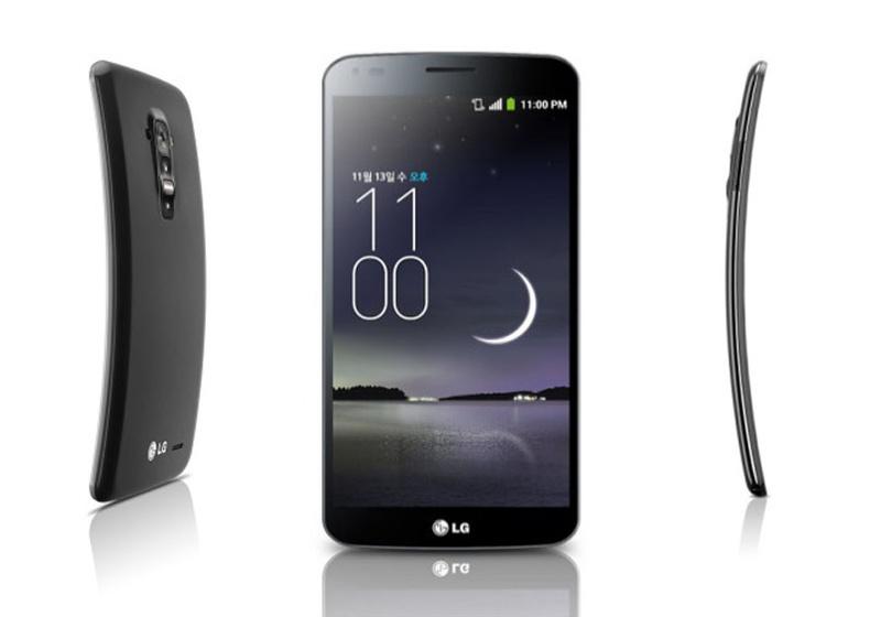 Нумардаг OLED дэлгэц - LG G FLEX 2014