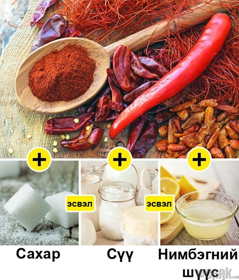 Халуун ногоотой хоол