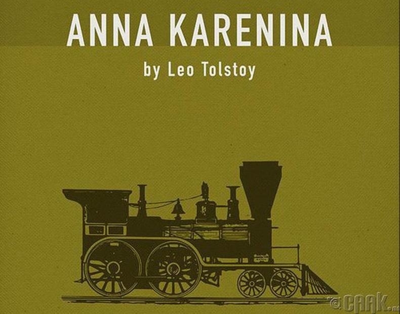 """Лев Толстой - """"Анна Каренина"""" (1877 он)"""