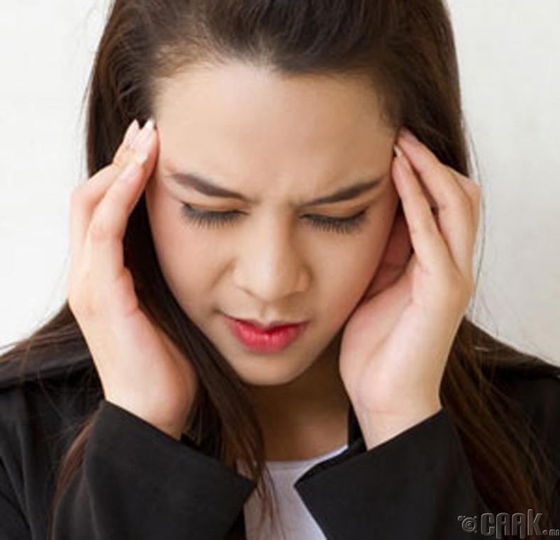 Зарим үед толгой өвдөнө