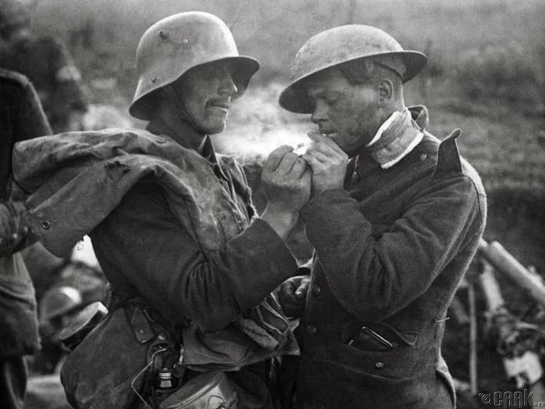 Дэлхийн II дайны үеийн цэргүүд - Тамхи