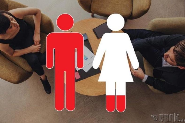 Эмэгтэйчүүд ихэнхидээ эрчүүдээс хожим тушаал дэвшдэг