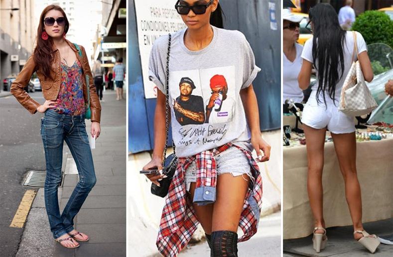 Орон орны хүмүүсийн гудамжны хувцаслалт
