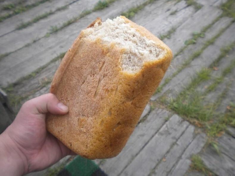 Дөнгөж гарсан талхны үнэр