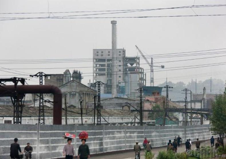 Оёдлын нийлэг даавуу ба химийн үйлдвэр  , Hamhyn  -2011 он