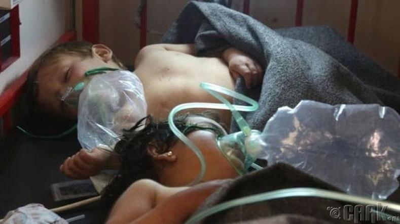 Сири дэх иргэний дайны үеийн халдлага