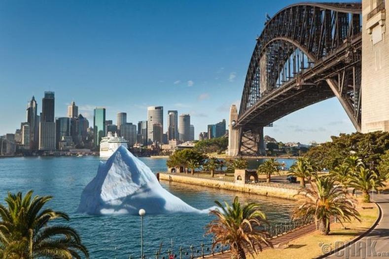 """""""Сиднейд ирсэн мөсөн уул"""""""