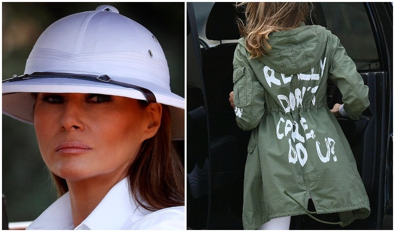 АНУ-ын тэргүүн хатагтай Меланиа Трампын шуугиан дагуулж байсан хувцаслалтууд