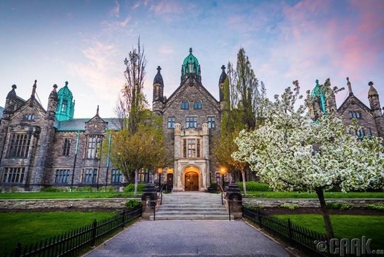 """""""Toronto""""-ийн их сургууль, Канад - 31,000 доллар"""