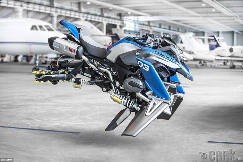 Нисдэг мотоцикль, нисдэг автомашин