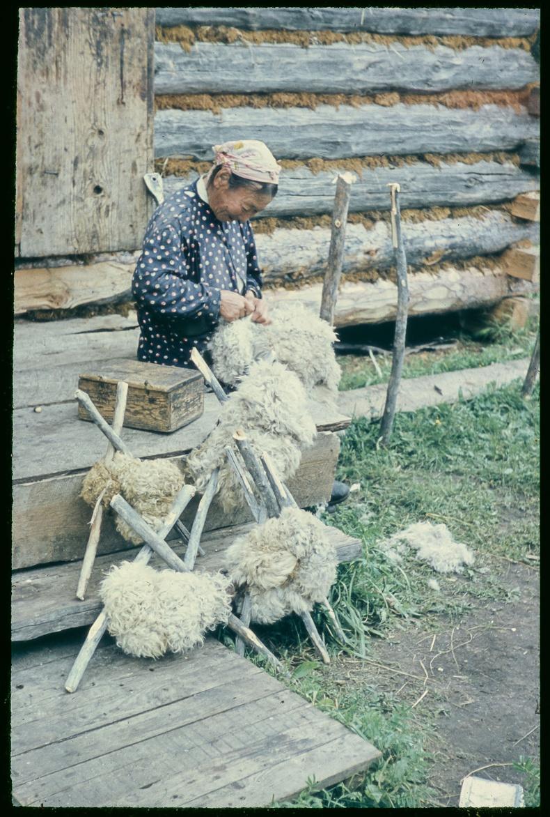 Хонины нэхий элдэж буй эмэгтэй - 1961