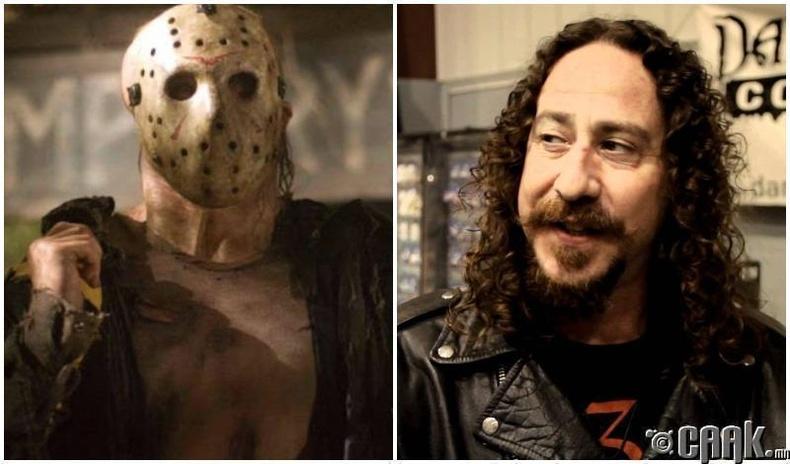 """Friday, The 13th"" киноны Жейсон Вурхиз (1980) - Ари Леман (Ari Lehman)"