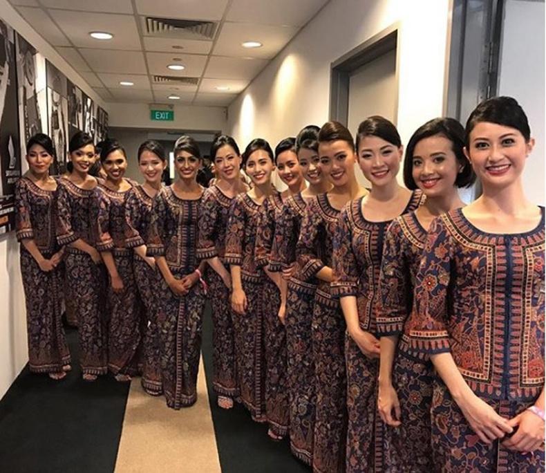 Сингапур Эйрлайнс, Сингапур