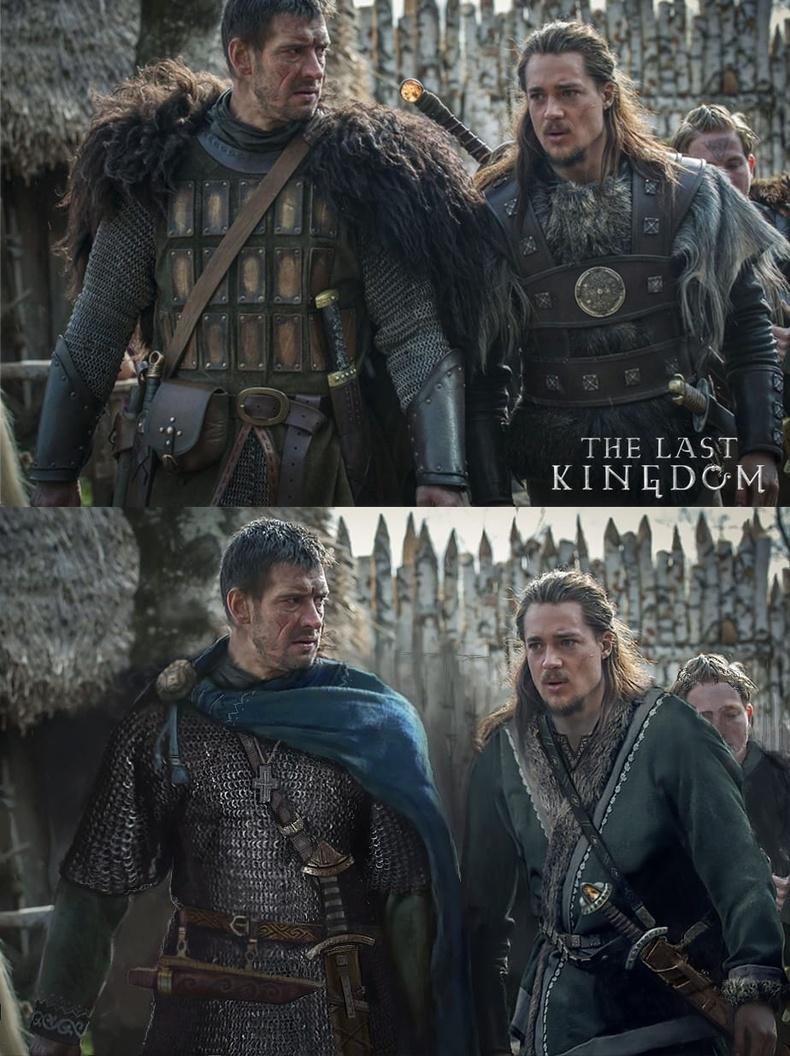 "Леофрик болон Утред Беббанбурсгкий (Leofric, Utred Bebbanburgsky) - ""The Last Kingdom"""