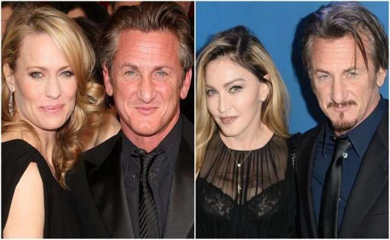 Робин Райт болон Мадонна (Robin Wright, Madonna)