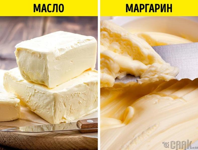 Масло ба маргарин