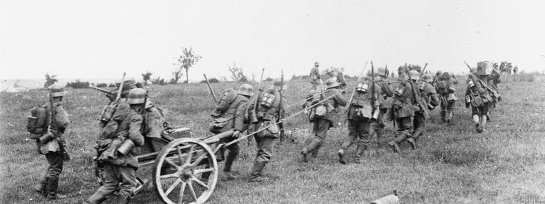 """""""Германы Хаврын Давшилт"""", 1918 (1.55 сая хүн амиа алдсан)"""