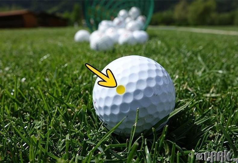 Гольфын бөмбөгний хонхорхой