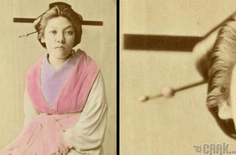 Хятадын үсний шорыг нинжа нар хэрэглэдэг байжээ