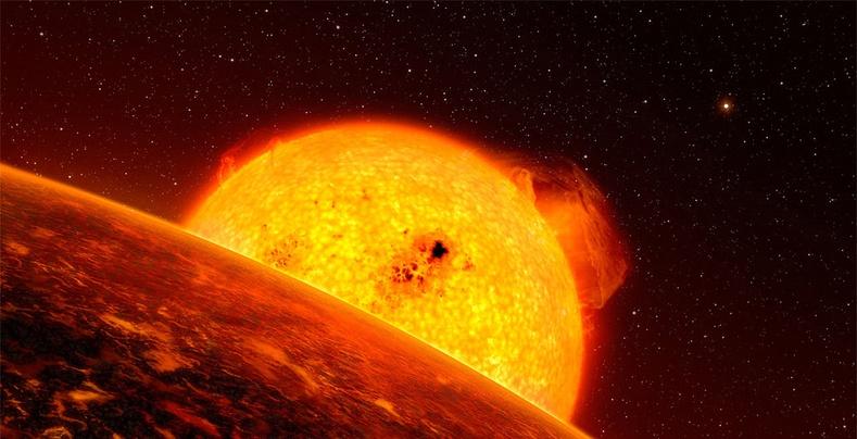 Аварга улаан одны мөхөл дэлхийн амьдралд нөлөөлөх үү?