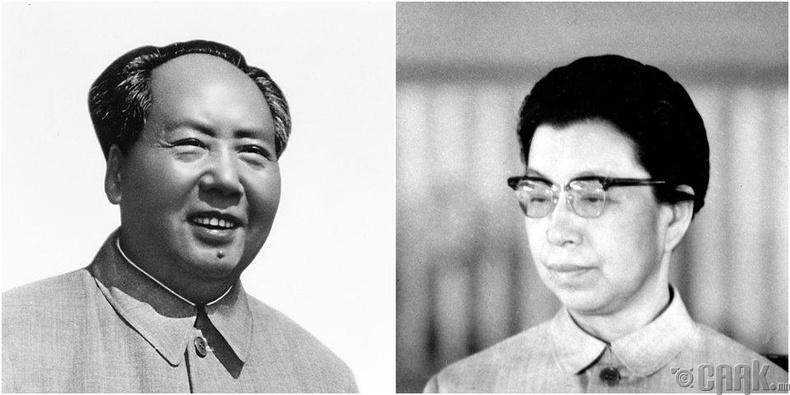 Жиан Чин, Мао Зедун